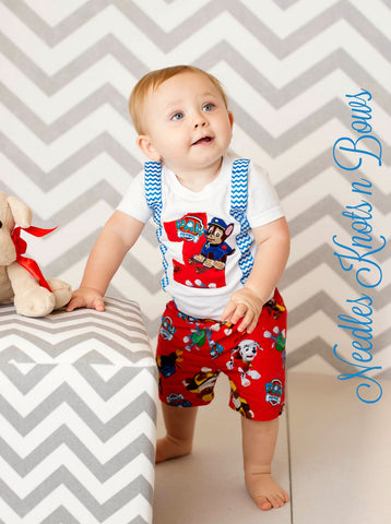 Boys Paw Patrol Birthday Outfit First Outfits 2nd