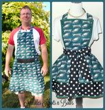 Philadelphia Eagles Womens Apron, Womens Eagles Flirty Football Apron, Aprons