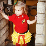 Girls Robin Costume, 4 pc Babygirl Superhero Costume, Toddlers, Halloween Superhero Costume, Batman, DC Comic, Comic Con