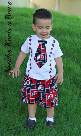Boys Utah Utes Football Outfit, Baby Boys Coming Home Outfit, Game Day