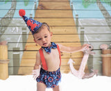Boys Nautical Cake Smash Set, Nautical Birthday Cake Smash Outfit, Nautical Birthday Outfit