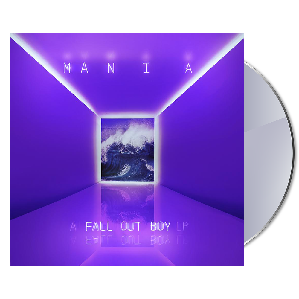 m a n i a cd fall out boy