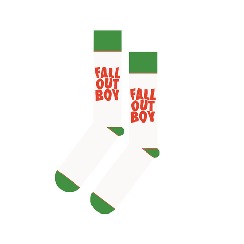 Holiday Logo Socks