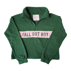 Green Fleece Pullover