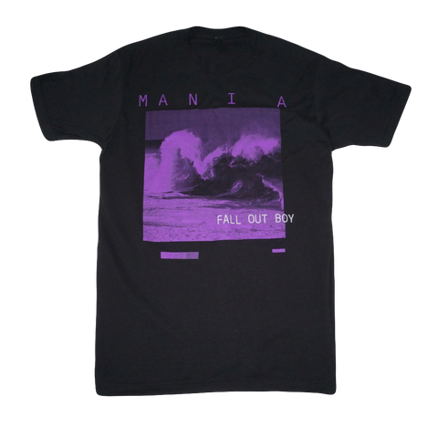 M A N I A Purple Wave Tee