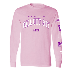 2018 Tour Pink Long Sleeve Tee