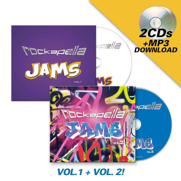 Jams, Vol.1+2 CD + MP3 Download
