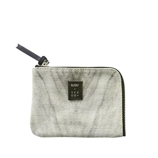 GLUSH/ x SECOO Hard Rays Grey travel pouch