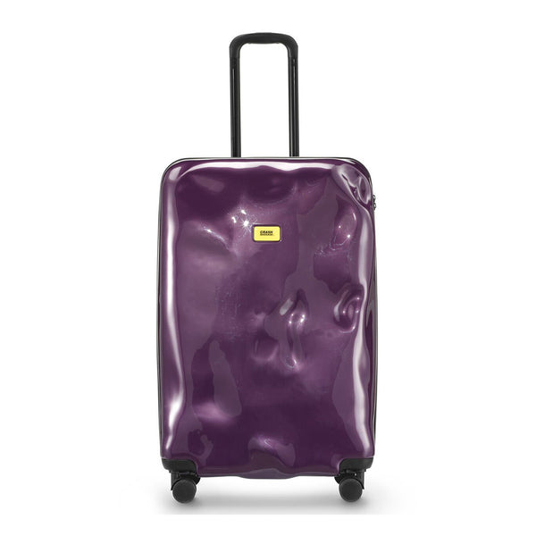 Purple Electric Cabin Trolley - Small (With 4 Wheels) - Secoo