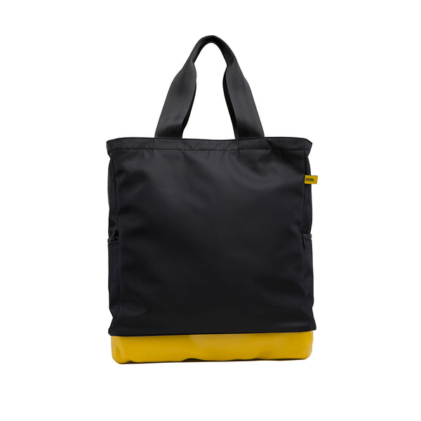 Laptop totebag mustard yellow
