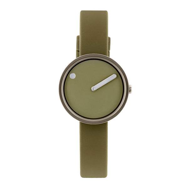 Picto - IP Light Gun, Army Dial, Army Strap, 30 mm - Secoo