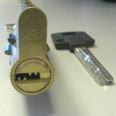 Pin in Pin Mul-T-lock Classic Bump Key - with lock