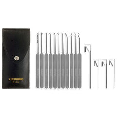 SouthOrd Slimline Lock Pick Set - 15 Piece C1510 - UKBumpKeys