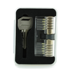 Double Sided Practice Lock with keys in Case