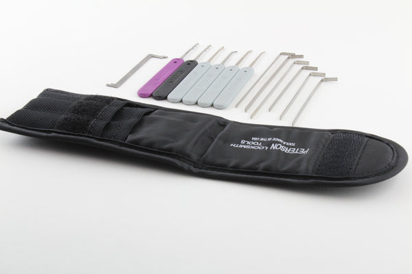 Peterson Eagle's Nest Lock Pick Set + Padded Case