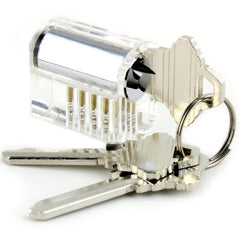 Dangerfield Clear Acrylic Practice Lock - Standard Pins - Medium difficulty