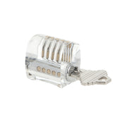 Sparrows Clear Practice Lock with Key 1 - for lock picking training