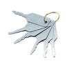 Medium Jigglers for Locksmiths - UKBumpKeys