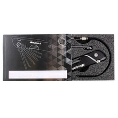 Boxed Multipick Jackknife lock pick set