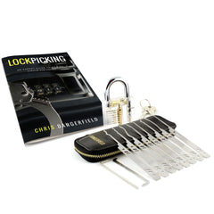 Secret Agent PLUS - How to Pick Locks Book, Serenity Set, Training Padlock
