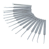 SouthOrd 22 Piece Slimline (Euro/UK) Lock Pick Set - fanned