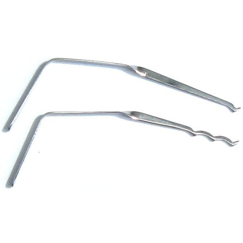 Dangerfield Bogota Rakes - Lock Picks (top, angled view)