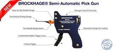 Brockhage Semi-Automatic Lock Pick Gun + 15 Needles - UKBumpKeys