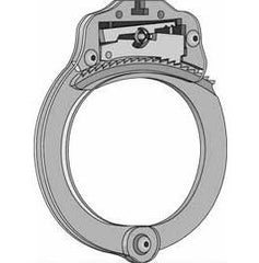 SouthOrd Visible Cutaway Handcuffs, Learn how handcuffs work