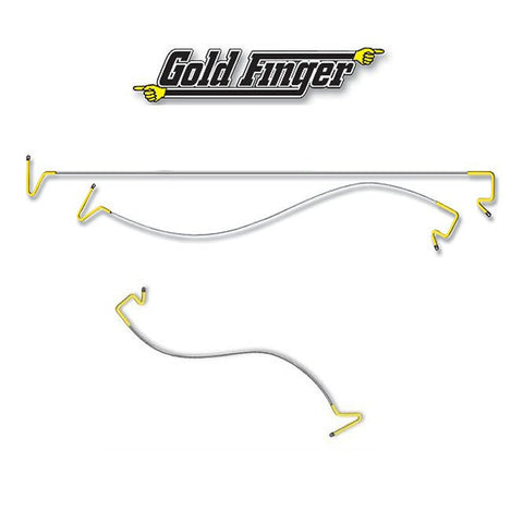 Gold Finger Through Car Tool - UKBumpKeys