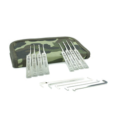 Dangerfield PRAXIS Dual-Gauge 21 Piece Complete Lock Pick Set