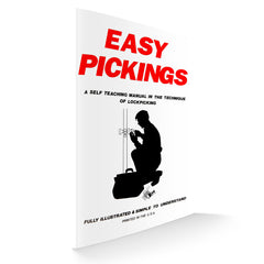 Easy Pickings - How to Lock Pick book - Front view