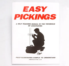 Lock Picking for Beginners Book - Simple and Illustrated