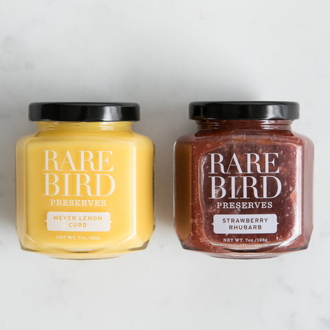 Set of 2 Jars - Rare Bird Preserves