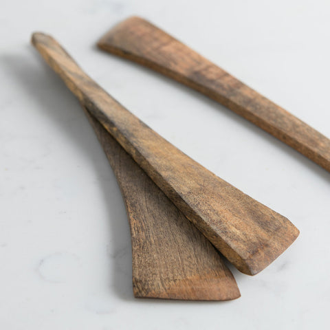 Mango Wood Spatulas - Rare Bird Preserves