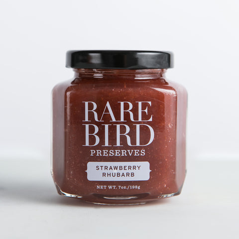 Strawberry Rhubarb Preserves - Rare Bird Preserves