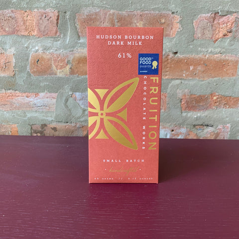 Fruition- Hudson Bourbon Dark Milk Chocolate