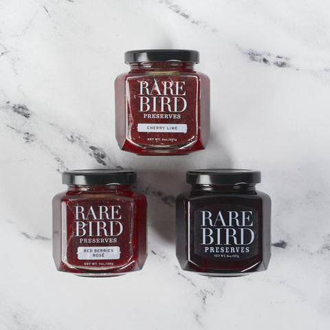 Set of 3 Signature Preserves - Rare Bird Preserves