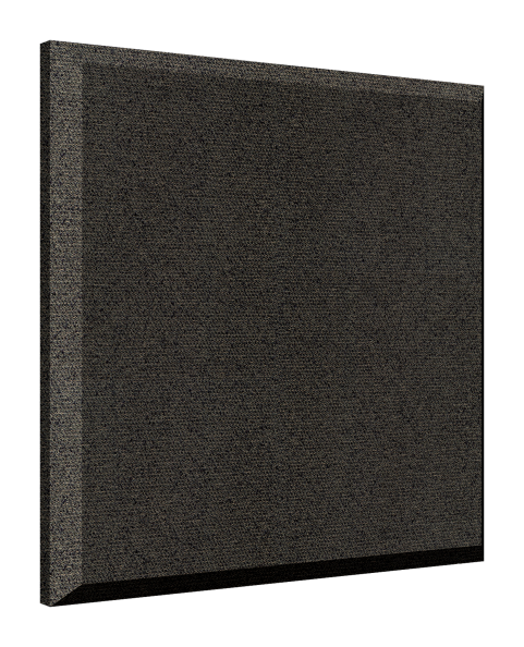 "2"" x 24"" x 24"" ProPanel™ Beveled Edge Acoustical Panel Obsidian"