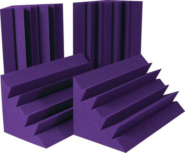 "24"" x 12"" x 12"" LENRD® Bass Traps Purple (4 Pack)"