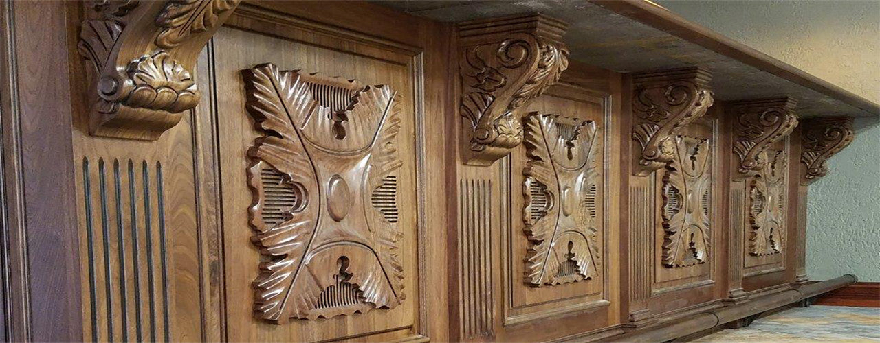 Genial Carved Wood Decorative Onlays