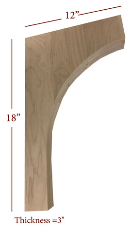 Bridge to Hutch Wide Mission Bar Bracket