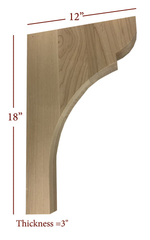Bridge to Hutch Wide Manchester Bar Bracket