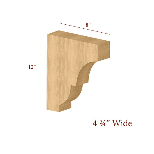 Extra Wide Craftsman Large Bar Bracket
