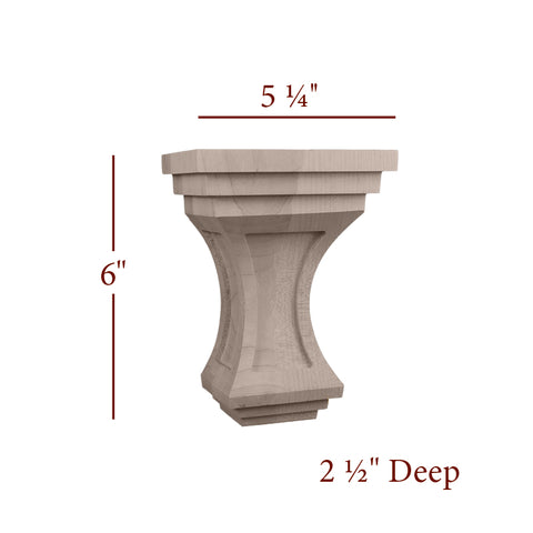 Small Liberty Corbel With Windows