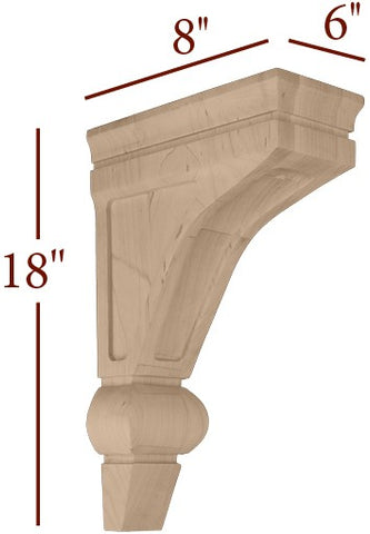 Large Maverick Contemporary Corbel With Window