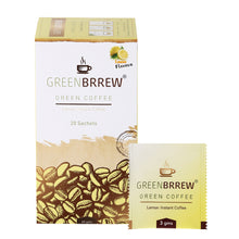 Instant Green Coffee 20'sachets (Lemon) for Weight Loss - 60 g