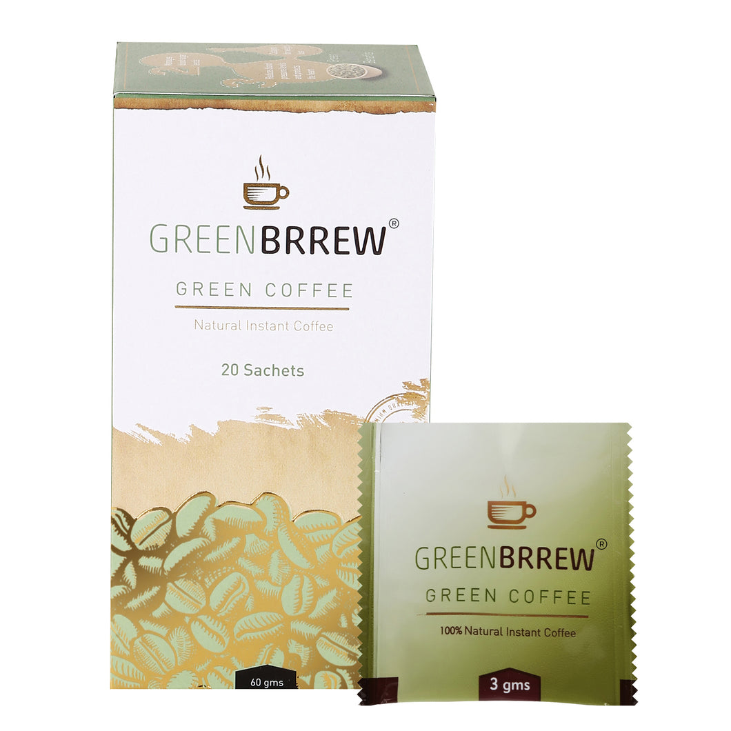 Greenbrrew Green Coffee Beans Extract for Weight Loss
