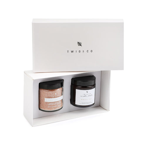 Pick 2 White Minimalist Gift Set