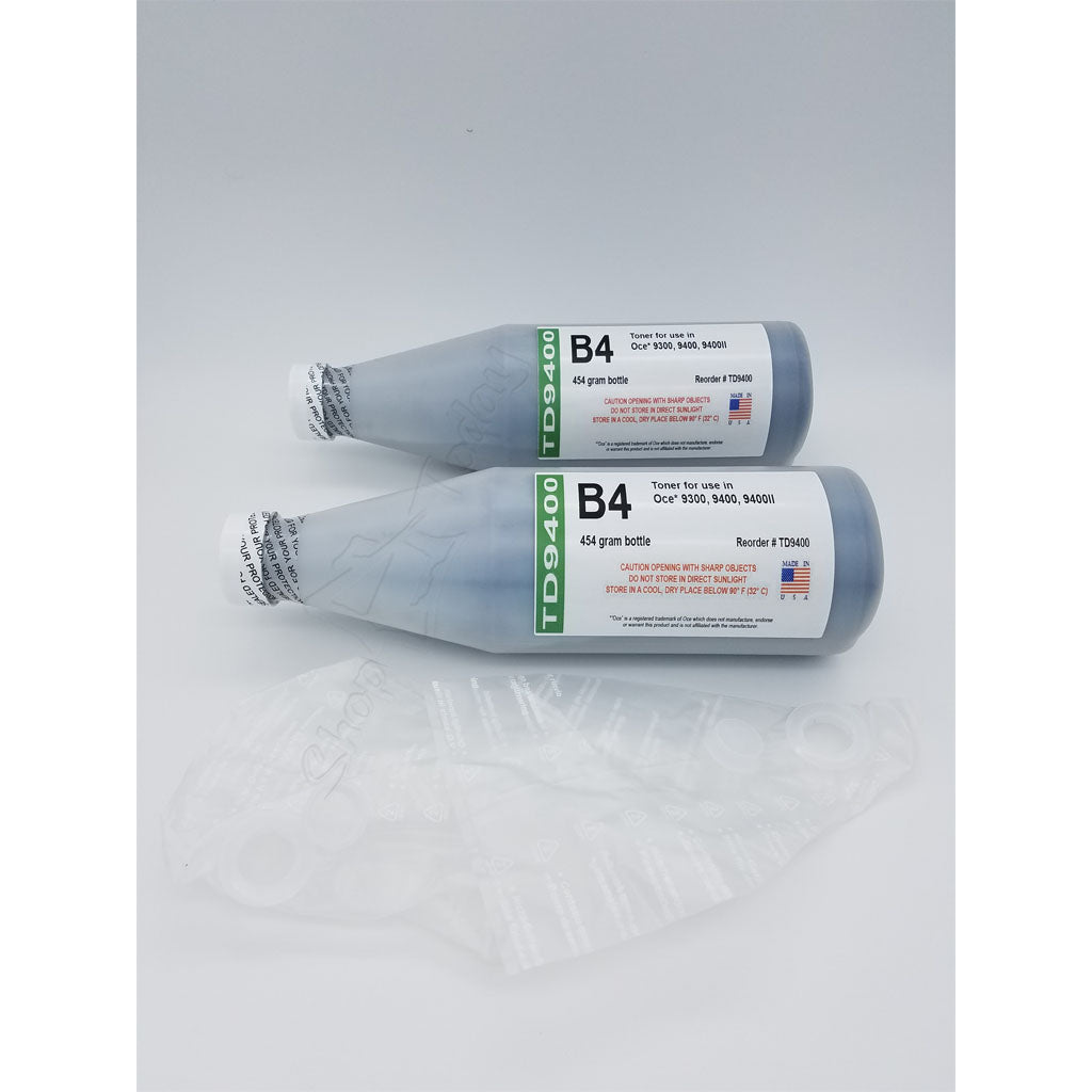 B4 Toner 25001878 for use in OCE 9300, 9400, 9400II
