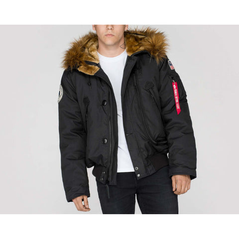POLAR SV COLD WEATHER JACKET - BLACK